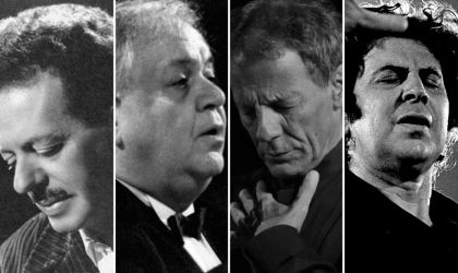 Cover image for 'Tsitsanis, Hatzidakis, Xarchakos, Theodorakis – Songs of Liberation by Greece's Four Great Composers'