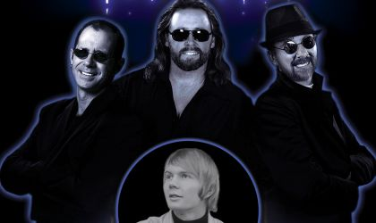 Cover image for 'The Best of the Bee Gees Featuring Colin 'Smiley' Petersen'