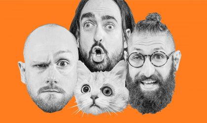 Cover image for 'Aunty Donna The Magical Dead Cat Tour'