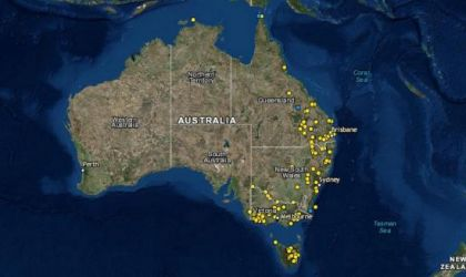 Cover image for 'Making the Past Visible: The University of Newcastle's map of frontier massacres'