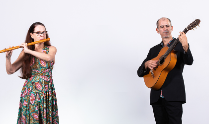 Cover image for 'Distanced Duets: Claire & Francis | Darwin Festival'