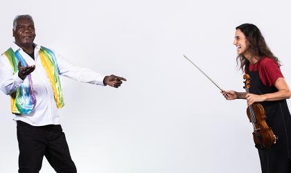 Cover image for 'Distanced Duets: Netanela & Guwanbal   Darwin Festival'