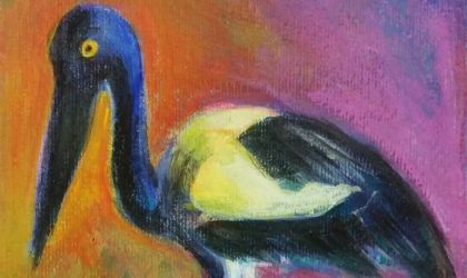 Cover image for 'Jabiru Doo - Arty Party Painting Event'