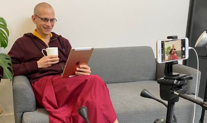 Cover image for 'Ask a Monk with Gen Dornying   Live Stream Q&A'