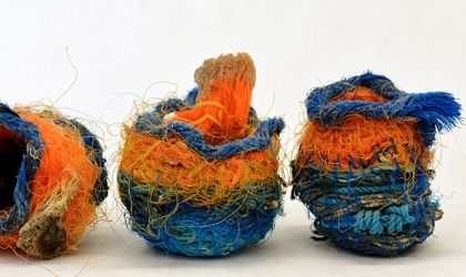 Cover image for 'Making Shift Masterclass - Recycled Basketry and Woven Sculpture'
