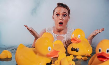 Cover image for 'Amy Hetherington - Don't Feed The Ducks'