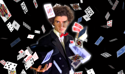 Cover image for 'Bartleby, the Horrible Magician'