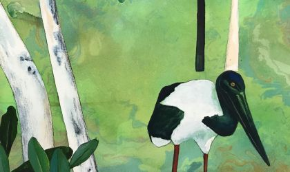 Cover image for ' Acrylic Painting Birds and Animals – August'