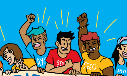 Cover image for 'AYCC Climate Justice Bootcamp'