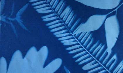 Cover image for 'Kids School Holiday Arts and Crafts – Cyanotype and Foam Printing'