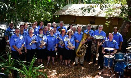 Cover image for 'Darwin City Brass Band Lessons, Ensemble Practice and Rehearsals'