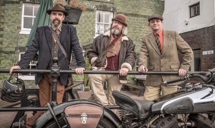 Cover image for 'The Distinguished Gentleman's Ride'