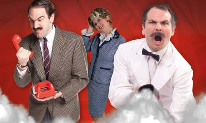 Cover image for 'Faulty Towers The Dining Experience at Oaks Elan Darwin'