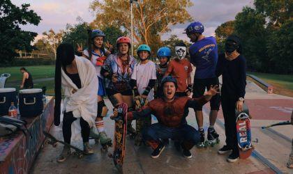 Cover image for 'Halloween Skate Night'