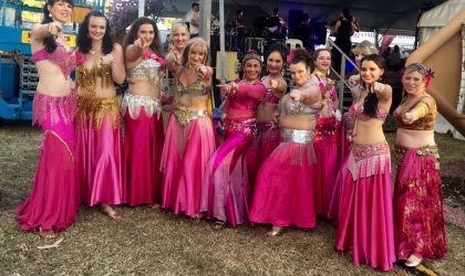 Cover image for 'Bellydancers at Nightcliff Markets'