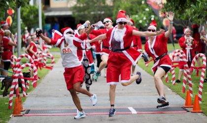 Cover image for 'Variety NT Santa Fun Run '