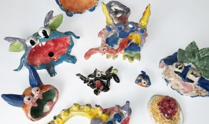 Cover image for 'Kids School Holiday Arts and Crafts – Ceramics'