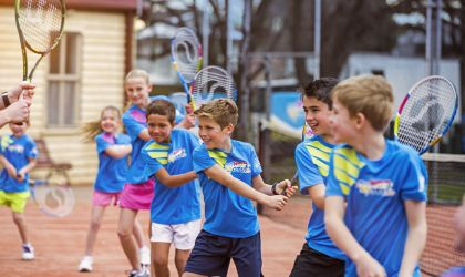 Cover image for 'Darwin Tennis School Holidays Camps'