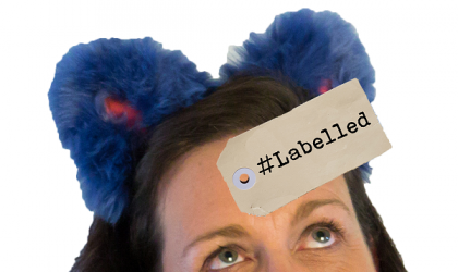 Cover image for 'Labelled - A Comedic Story About Stories About People '