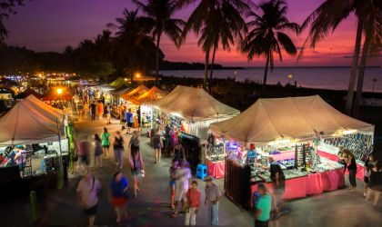 Cover image for 'Mindil Beach Sunset Markets'