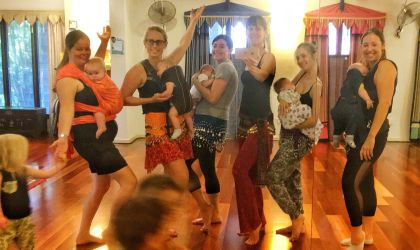 Cover image for 'Mums & Bubs Bellydance Classes'