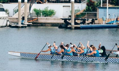 Cover image for 'Beginners Dragon Boating'
