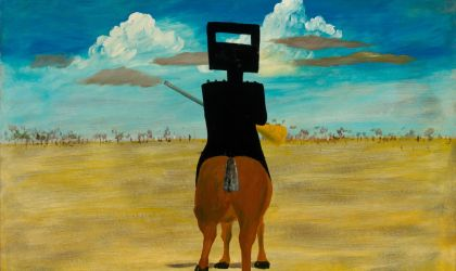 Cover image for 'Sidney Nolan's Ned Kelly series'