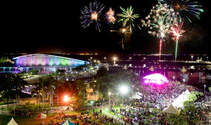 Cover image for 'New Year's Eve at the Darwin Waterfront '