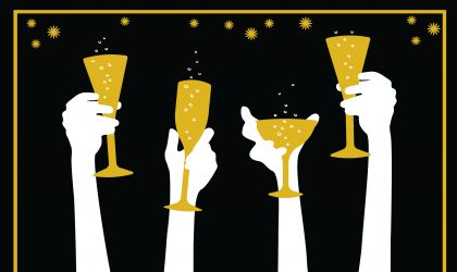Cover image for 'New Year's Eve Party - Bubbles under the Stars'