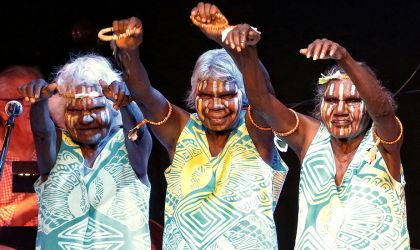 Cover image for '// CANCELLED // Tiwi Strong Women's Group - Yoi! Ngarukuruwala'