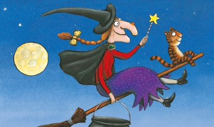 Cover image for 'Room on the Broom'