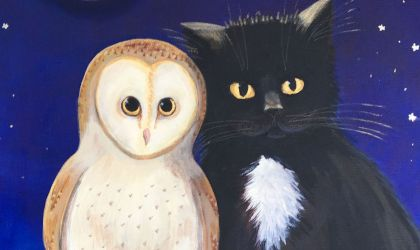Cover image for 'The Owl, The Pussycat and The Elephant in the Room by Rebecca Smyth'