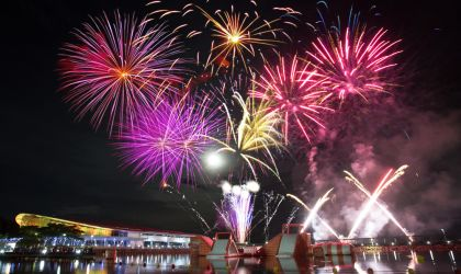Cover image for 'New Year's Eve at the Darwin Waterfront'