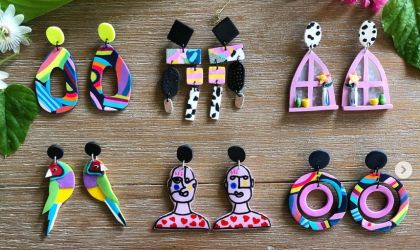 Cover image for 'Vibrant Polymer Clay Earrings with Salvation Jewellery'