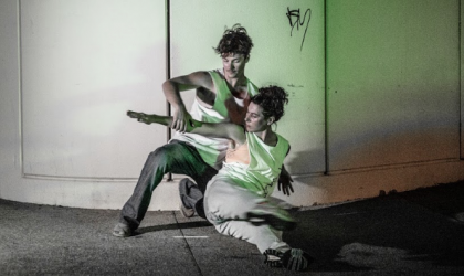 Cover image for ''Caught Falling'– Tracks Choreographic Program Showings & Artist Talk'