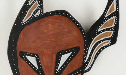 Cover image for 'Momentum: Recent acquisitions of Aboriginal Art'