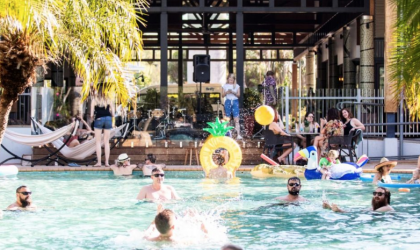 Cover image for 'Hi to the Dry Pool Party'