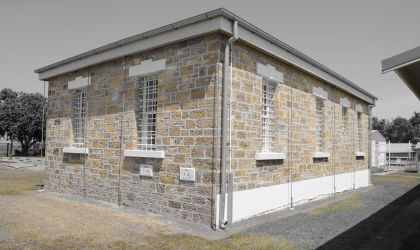 Cover image for 'Charlie Flannigan at Fannie Bay Gaol tour'