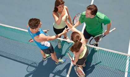 Cover image for 'Social Tennis'