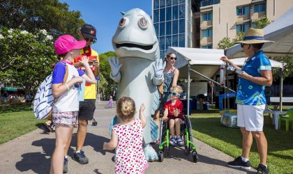 Cover image for 'Splashfest at the Darwin Waterfront'