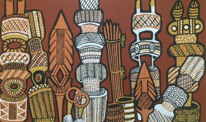 Cover image for 'Aboriginal Bush Traders' Painting Sale'