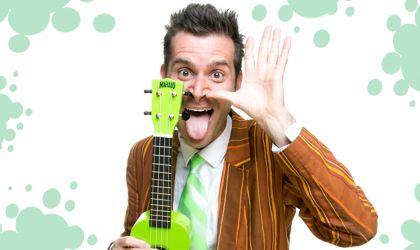 Cover image for 'Darwin Fringe Festival: Mr Snotbottom Comedian For Kids Live at Brown's Mart'