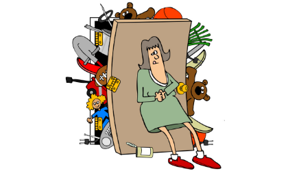 Cover image for 'Too Much Stuff Recycling Flea Market'