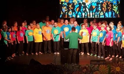 Cover image for ''Welcome to the 70s' VoxCrox Community Choir Concert'