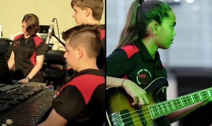 Cover image for 'NT Music School - Strings, Mallets & Rock 'n' Roll'