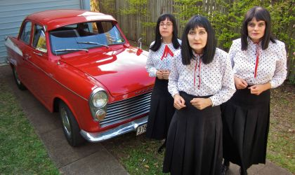 Cover image for '// CANCELLED // The Kransky Sisters - Turning The Hubcaps'