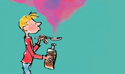 Cover image for 'George's Marvellous Medicine'