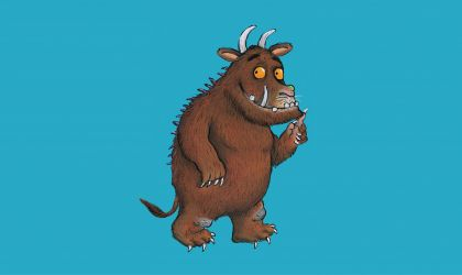 Cover image for 'The Gruffalo'