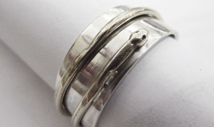 Cover image for 'Silver Jewellery Making – July/August'