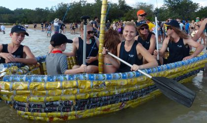 Cover image for 'Beer Can Regatta'
